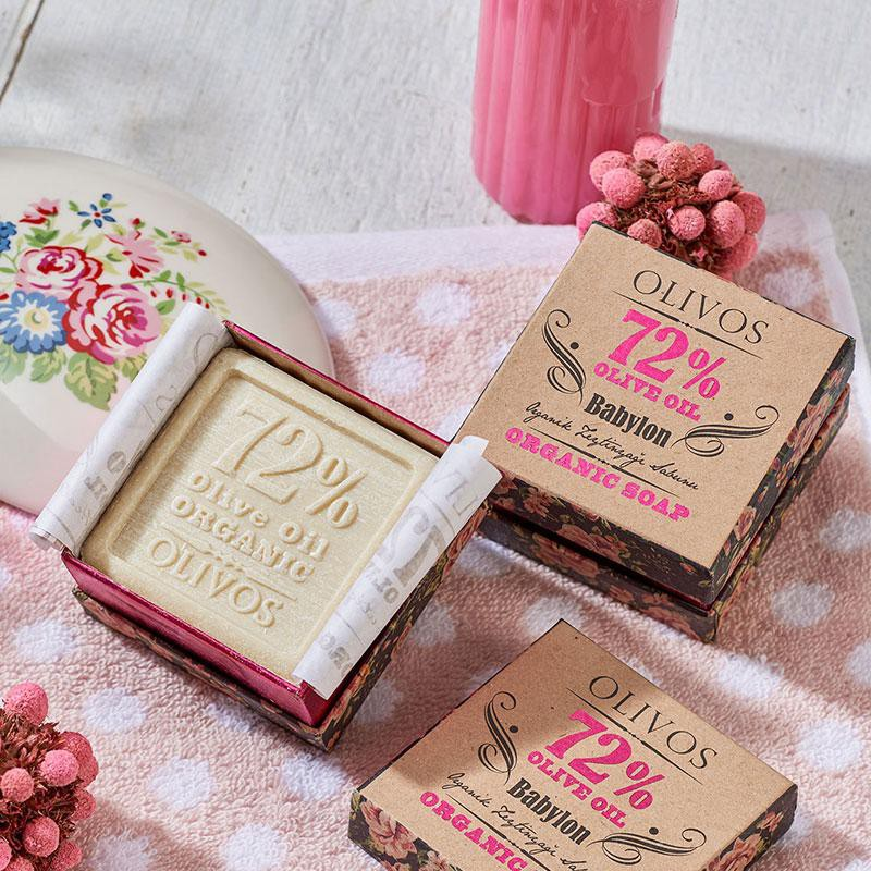 BABYLON luxusní, organické mýdlo