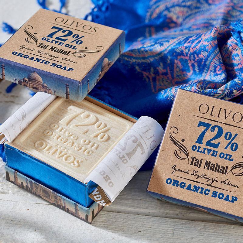 TAJ MAHAL luxusní, organické mýdlo