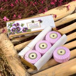 Olivos luxusní parfémovaná mýdla VIOLET