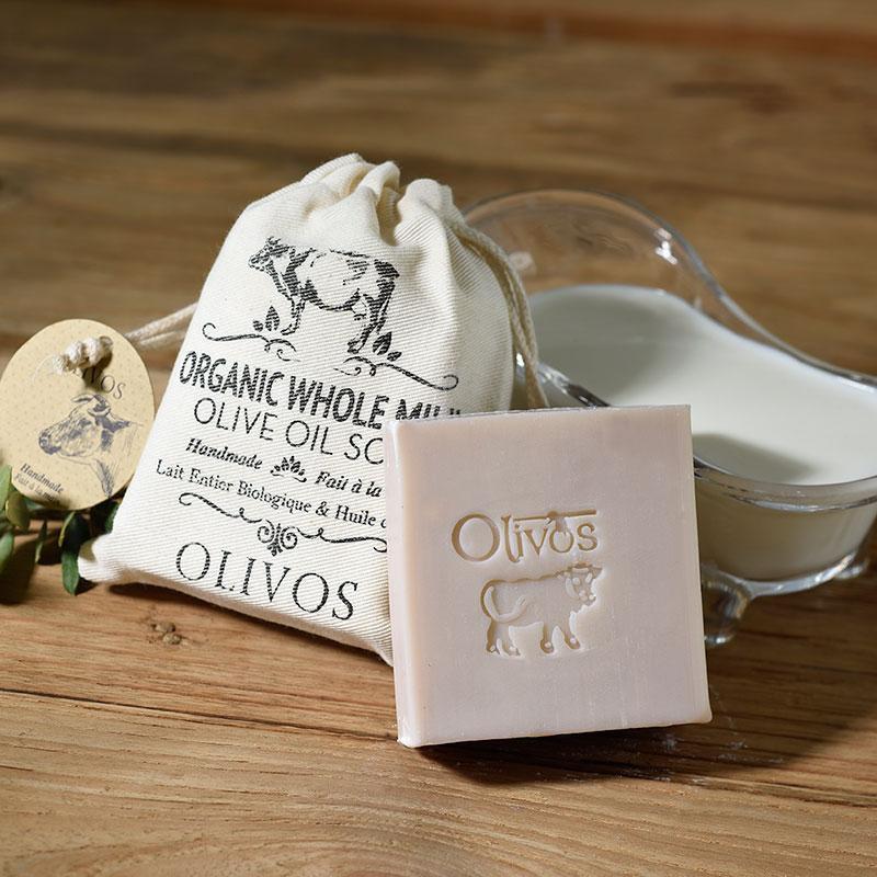 Olivos luxusní mýdlo s organickým mlékem