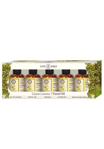 Cestovní set s organickým olivovým olejem, 5x50 ml